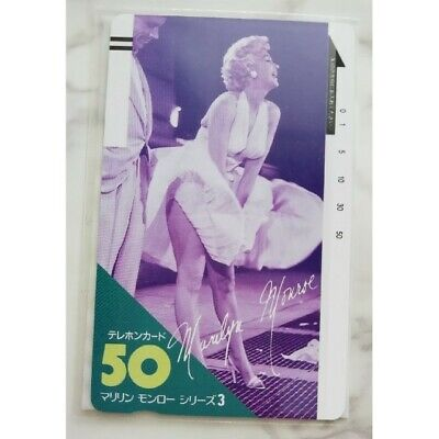 Marilyn Monroe Telephone Card The Seven Year Itch Famous Sean Rare
