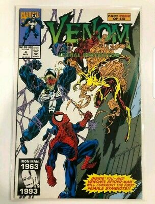 Venom lethal protector 4 nm 1st appearance of Scream absolute carnage donny cate