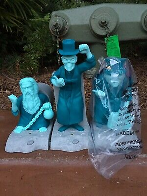 Disney Haunted Mansion 50th Hitchhiking Ghosts Popcorn Bucket Light-Up IN HAND