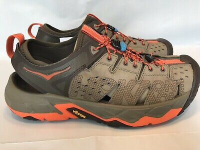more photos 61779 01a87 HOKA ONE ONE TOR TRAFA Men Sandal Running Hiking Trail TAN ORANGE Size 9.5