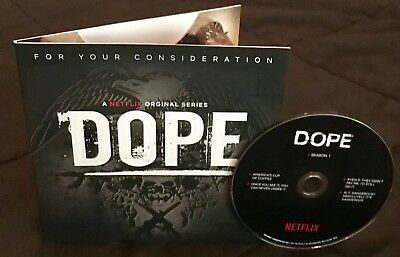 DOPE DVD 2018 Emmy consideration complete season one Netflix Documentary FYC