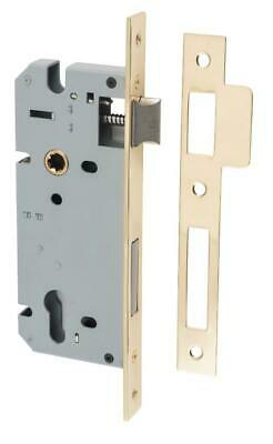 high security euro mortice lock 85 mm,range of finishes,45 mm backset