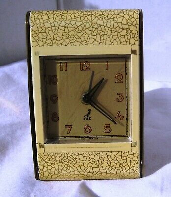 Beautiful Quality Yellow Alarm Clock from JAZ with Original Box and Paperwork