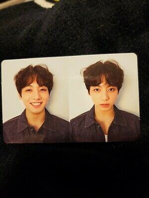 Jungkook Official Photocard BTS Love Yourself Tear R Version Fake Love Kpop