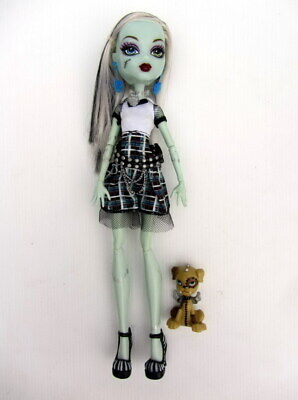 Mattel MONSTER HIGH DOLL - FRANKIE STEIN Ghoul's Alive - Working