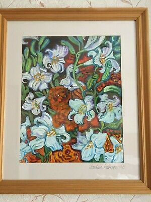 Original Oil Painting On Board Signed Christina Pattison