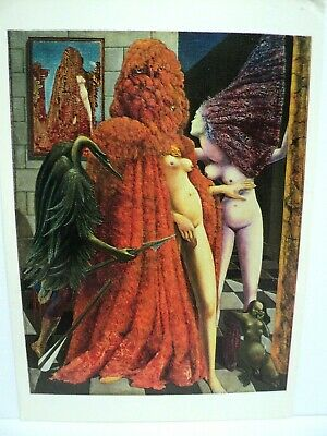 "Cpm Rppc Max Ernst ""The Attirement Of The Bride""  1940 Guggenheim Venise"