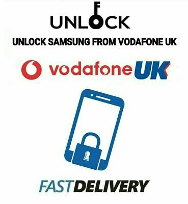 Unlock Code Vodafone UK Samsung Galaxy S10 S10e S10 Plus S10+ S8 S9 Vodafone UK