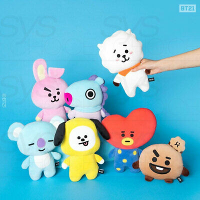 BTS BT21 Official Authentic Goods Mini Flat Body Cushion + Tracking Number