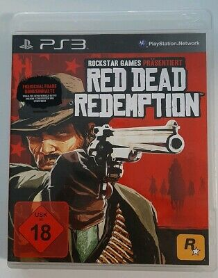 Red Dead Redemption Playstation 3 Ps3 Rockstar Games