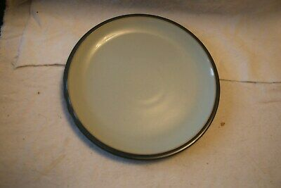 "Denby 'EVERYDAY  TEAL'  9"" Salad Plates X 2"