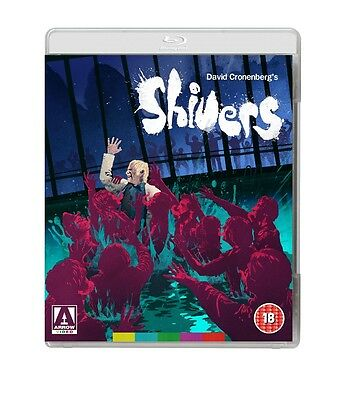 Shivers - Blu-Ray - Uncut - Special Edition - David  Cronenberg