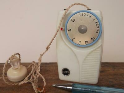 COLLECTABLE VINTAGE cream  CRYSTAL SET RADIO '''OLSON'' BRAND made in Japan