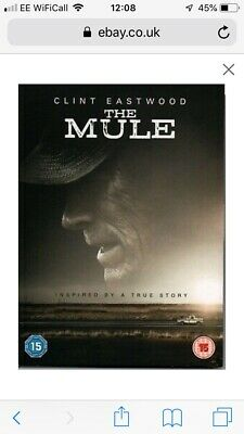 The Mule DVD 2019 - Clint Eastwood Bradley Cooper - Brand New & Sealed