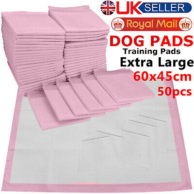 30 50 100 200 60X45Cm Large Puppy Training Pads Toilet Pee Wee Mats Pet Dog Cat