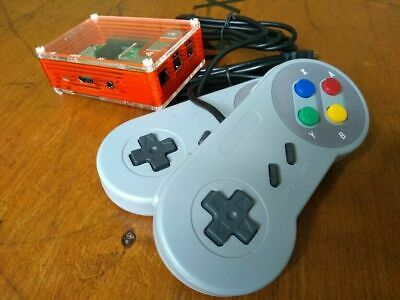 Retro Game Console PlayStation + N64 games + more 128GB 2 controllers RetroPi