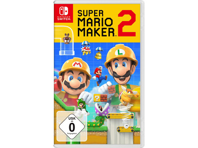 Super Mario Maker 2 -- Standard Edition Nintendo Switch, 2019 NEU Original Folie
