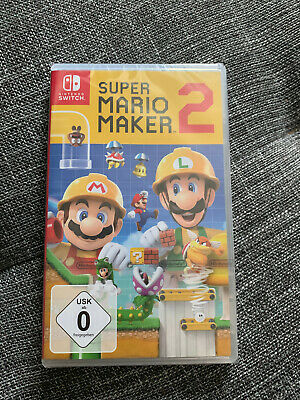 Super Mario Maker 2 (Nintendo Switch) NEU & OVP & USK