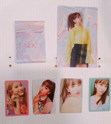 TWICE  7th MINI ALBUM FANCY YOU Photo Card , Lenticular ,Pre Order Benefit Card