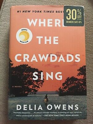 Where the Crawdads Sing by Delia Owens (Hardcover)