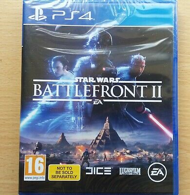 Star Wars Battlefront II - (PS4) - Brand New (Sealed)
