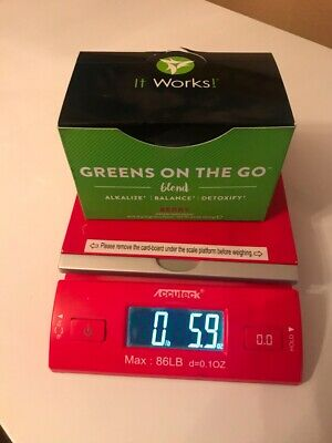 box It Works! Greens on the Go Blend 30 Packets  Berry  Exp 12/2018