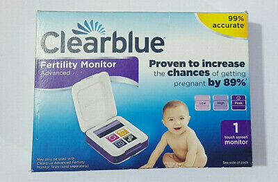 Clearblue Advanced Touch Screen Fertility Monitor NEW! Long Expiry 30/06/2026