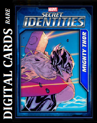 Topps Marvel Collect Card Trader Secret Identities Wave 3 Mighty Thor [Digital]
