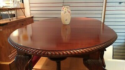 Antique Victorian dining Table and chairs (x6)