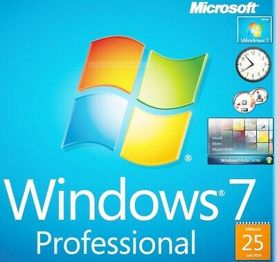 Windows 7 Professional 32 Bit & 64 Bit ISO ✔  BLITZVERSAND ✔ Vollversion ✔  ESD