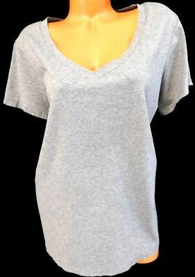 New Plus Size DUO Maternity Sequin Trim Ribbed Knit Top Tank 2X White