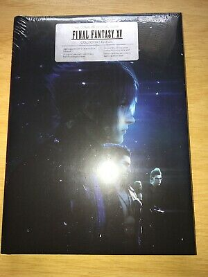 Final Fantasy XV : The Complete Official Guide Collector's Edition.