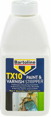 Paint Varnish Remover Stripper Non Drip Strip To Wood 500ML Bartoline TX10