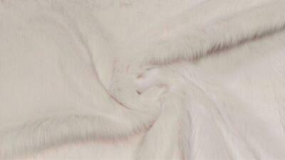 Super Luxury Faux Fur Fabric Material LONG PILE OATMEAL