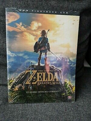 The Legend Of Zelda Breath Of The Wild le guide officiel complet neuf