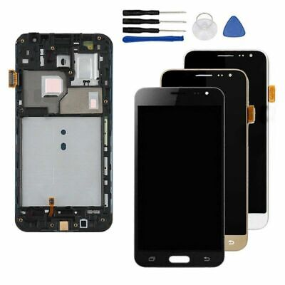 For Samsung Galaxy J3 2016 SM-J320FN/F LCD Display Touch Screen Digitizer frame