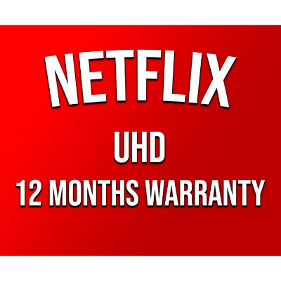 Netflix UltraHD 1year | Autosubscription | Use Your Own Email