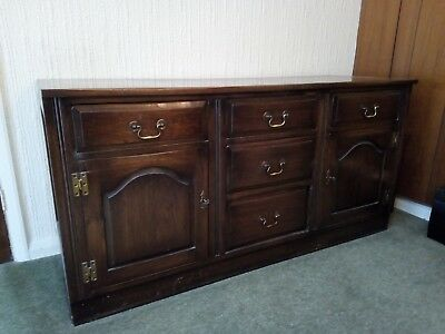 Solid wood G plan side unit. Coffer, Blanket Box, Storage chest, Ottoman.