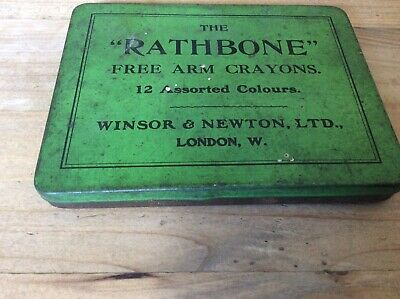 Vintage Winsor and Newton   Artist Rathbone Free Arm Crayon materials