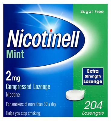 nicotinell mint 2mg extra strenght lozenge 204 lozenges