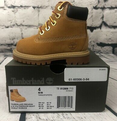 TIMBERLAND TODDLERS 6 IN Premium Waterproof Boots Rust