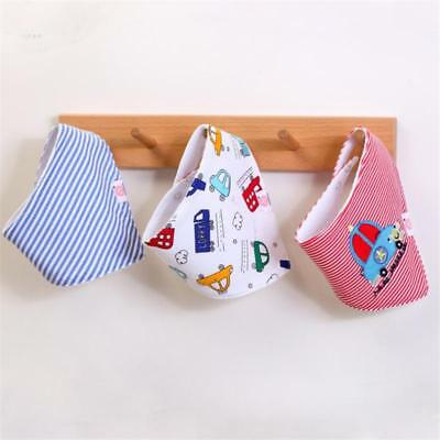 Cute Baby Infant Triangle Scarf Bandana Feeding Bibs Saliva Towel Q