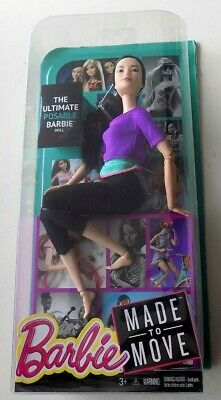 Made to move Barbie the Ultimate Posable Barbie Doll Purple Top Hard to find