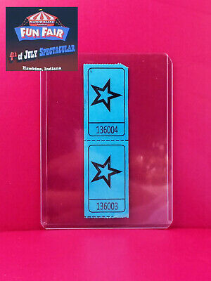 Authentic Stranger Things 3 Fun Fair Carnival Ticket Prop