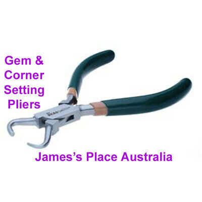 Gem Setting Pliers - various jaw styles