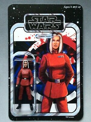 Star Wars Custom Carded - Expanded Universe Director Ysanne Isard
