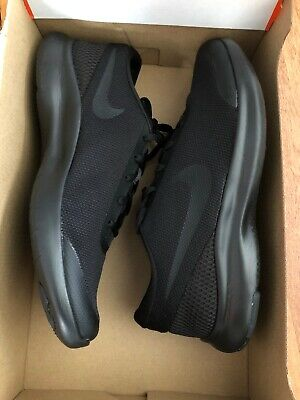New Mens Nike Flex Experience 7 Sneakers Black Size 8.5 Wide (4E)