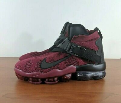 Nike Air Vapormax Premier Flyknit Mens Sneakers Red Black AO3241-600 Size 10