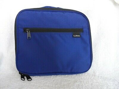 L.L. Bean Navy Personal Organizer Toiletry Bag Travel