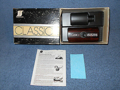 Vintage Sound Saver Record Care System Classic 1 Stereo 1 W/ Ironwood Brush Nice